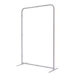 4ft x 72in EuroFit Straight Wall Floor Tension Fabric Display Hardware Only. The uniqueness of a tension fabric display is evident when you see one on the trade show floor.