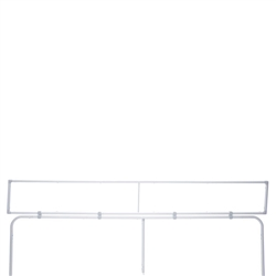 10ft EuroFit Tagalong Tension Fabric Display Hardware Only. Expand select EuroFit displays by attaching the EuroFit Tagalong to the top or side.