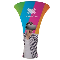 8ft x 10ft EuroFit Vortex Floor Tension Fabric Display Kit. These double-sided displays weigh 75% less than standard pop-up displays.