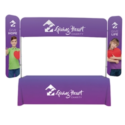 8ft x 6ft  EuroFit Monarch Display (Graphic & Hardware). 