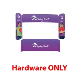 8ft x 6ft  EuroFit Monarch Display (Hardware Only). 