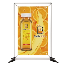 3ft x 4ft  FrameWorx Tabletop Display Single-Sided (Graphic & Hardware). 