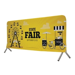 7ft x 3ft  Barricade Cover Fabric (Graphic Only). 
