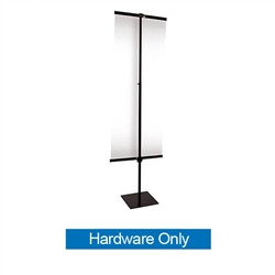 24in x 70in Everyday Snap Rail Banner (Hardware Only)
