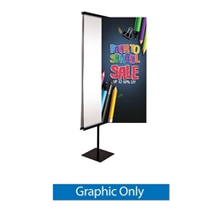30in x 70in Everyday Snap Rail Banner (Graphic Only)