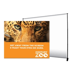 10ft x 8ft Deluxe Exhibitor Display Replacement Graphic. It is as one-of-a-kind banner display that is adjustable both vertically and horizontally.Show your customers how to create banner displays, advertising towers, room dividers even complete tradeshow