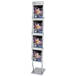 This unique literature display is actually 4 tiered acrylic literature holder! The Clear View Literature Holder Display is Literature Holders for Creative Displays. Shop extensive selection of magazine & brochure holders for your next trade show or event