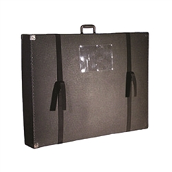275 Omni Display Panel Case 42in x 20in x 10in is the perfect case for carrying display materials to and from trade shows, meetings. Easily transport your trade show panel table tops, panel displays, exhibits, protect displays during transportation