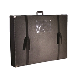 275 Omni Display Panel Case 44in x 40in x 6in is the perfect case for carrying display materials to and from trade shows and meetings. Easily transport your trade show panel table tops, panel displays, exhibits, protect displays during transportation