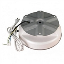 IR-100 Display Turntable Rotating Wires low profile turntable is rated to turn 100 lbs with a larger 9-inch diameter turntable plate. Includes a 6-foot power cord and a safety clutch to prevent damage to the motor when turning motion is obstructed.