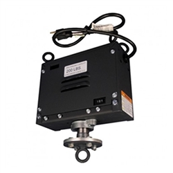 Spinning Motor for Hanging Banner Displays 200lb Capacity IG-4 HANG Without Rotating Power Outlet will attract more attention to your hanging banner with spinning motion at next trade show or event. Hanging Banner Rotating Motors are important accessory.