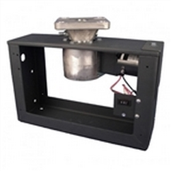 H-650 Frame-style Rotator (Without Rotating Wires) is ideal for larger diameter and odd-shape signs and displays. The oil-free gear box prevents oil leaks from happening during shipment and storage