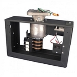 This indoor H-650 Frame-style Rotator (With Rotating Wires) is ideal for larger diameter and odd-shape signs and displays. The oil-free gear box prevents oil leaks from happening during shipment and storage