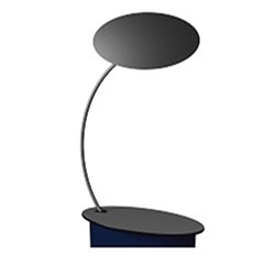 SOLO Curvo Post No Shelves for Counter Display will serve as a great marketing tool.  Use it with SOLO Standard Podium to create the perfect demo station or podium.SOLO portable podiums and demo tables for your next trade show or event