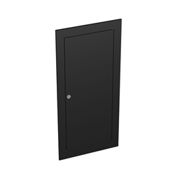 SOLO Evolution Locking Door for SOLO Evolution Standard Podium Display to provide security for your storage items at your next trade show. SOLO�s exclusive patented modular system allows for multiple counters configurations