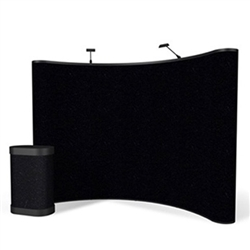 10ft ENERGY Curved Pop Up - Fabric Display