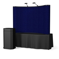 8ft ENERGY Curved TT Pop Up - Fabric Display