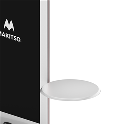 Round Shelf for Makitso Blade Digital Kiosks. Discover the Makitso Blade digital signage kiosk with optional touch screen display solutions and create a lasting impression in the mind of your audience through personal interactive experiences.