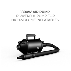Electric Air Pump, 1800 W for Nomas Air Inflatable Tent . The result is a vibrant, long-lasting graphic that will provide you with branding for years to come.