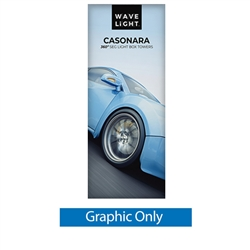 Breathe new light into your brand, exhibit, event or retail shop with the WaveLight Casonara Tower 360 Light Box Displays.