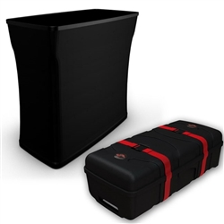 CA500 Shipping Case is a large molded graphic case. Tough blow molded cases that offer maximum protection with reliable built-in wheels and an easy to grip molded handle.