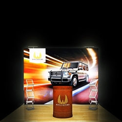 10ft x 8ft SEG Popup Display (Graphic & Hardware)