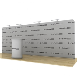 Wave Tube  20Ft Straight Display