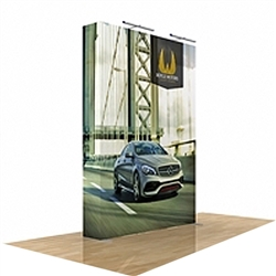 5ft x 8ft Star Fabric Popup Display w/o Endcaps (Graphic & Hardware)