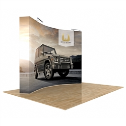 Star Fabric Pop-Up Trade Show Display