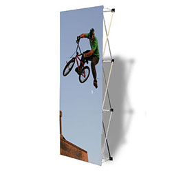 The VBurst 3ft Fabric Popup Display from xyzDisplays is a perfect choice for anyone that needs a large display but is unwilling to give up durability, weight, ease of setup, or quality. This display system is ideal for your next expo, tradeshow.