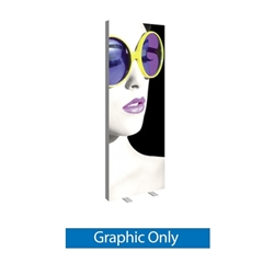 Replacement Graphic for 3ft x 8ft Vector Frame Essential Light Box | Single-Sided Fabric Graphic