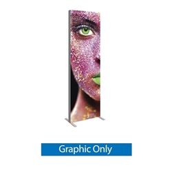 Replacement Graphic for 2.5ft x 8ft Vector Frame Master Dynamic Light Box | Backlit SEG Fabric