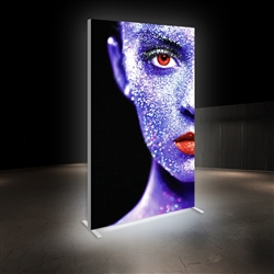 5ft x 8ft Vector Frame Master Dynamic Light Box | Animated SEG Fabric Backlit Display