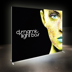10ft x 8ft Vector Frame Master Dynamic Light Box | Animated SEG Fabric Backlit Display
