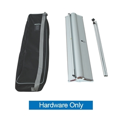 15.75in Blade Lite Retractable Banner Stand Display Hardware Only. The Blade Lite retractable banner stand has a graphic that is easy to change on the spot making it ideal for traveling exhibitors!