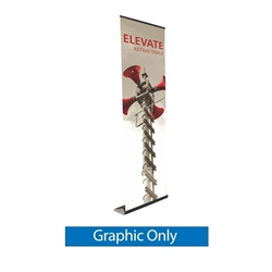 Replacement Vinyl Banner for Elevate Retractable Banner Stand Display. Elevate roll up banner stands, also called retractable banner stands, are portable, lightweight banner displays. The Widest Selection of Retractable Banner Stands