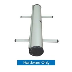 34in Phoenix Silver Retractable Banner Stand Hardware Only is best selling made in the USA banner stand trade show display. The Phoenix Retractable Banner has become a market leader, proving its dependability show after show.
