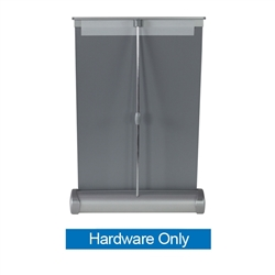 8in x 11in Breeze Retractable Tabletop Stand Display Hardware Only is a perfect addition to help get the most out of your table space.  Affordable, compact, and easy to set up, the Breeze banner stand is an way to add that little extra something