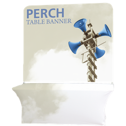 6ft Perch Tall Table Pole Banner Kit will provide you both stability and striking looks. Street Pole Banners, avenue banners, or main street banners; call them what you like we have them.
