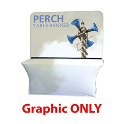 6ft Perch Medium Table Pole Banner will provide you both stability and striking looks. Street Pole Banners, avenue banners, or main street banners; call them what you like we have them.