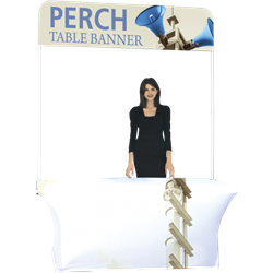 6ft Perch Short Table Pole Banner Kit will provide you both stability and striking looks. Street Pole Banners, avenue banners, or main street banners; call them what you like we have them.