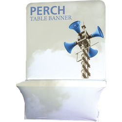 8ft Perch Tall Table Pole Banner Kit will provide you both stability and striking looks. Street Pole Banners, avenue banners, or main street banners; call them what you like we have them.