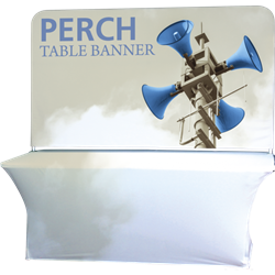 8ft Perch Medium Table Pole Banner Kit will provide you both stability and striking looks. Street Pole Banners, avenue banners, or main street banners; call them what you like we have them.