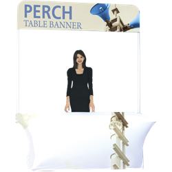 8ft Perch Short Table Pole Banner Kit will provide you both stability and striking looks. Street Pole Banners, avenue banners, or main street banners; call them what you like we have them.