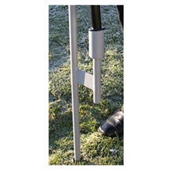 The Orbus Zoom Drive-over Base allows your Zoom 4 or 5 portable indoor and outdoor flag to be stable in any situation. Zoom Drive-over base is perfect for irregular ground, and extreme wind conditions outside.