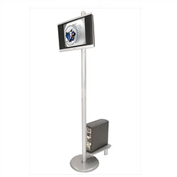 Linear Monitor Trade Show Kiosk Kit Compliment your Linear Trade Show Display while adding excitement and attention to your trade show booth with these sleek attractive Linear Monitor Trade Show Kiosk Kit . Each Linear Monitor Trade Show Kiosk Kit