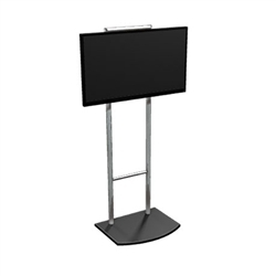 Set up your large screen LCD or plasma flat panel monitors at your trade show booth with Vibe 42in Monitor Kiosk Stand. Trade Show Kiosks and Monitor Stands: The best quality and variety of kiosks and monitor stands for trade shows.