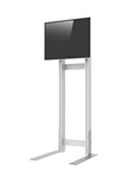 Set up your large screen LCD or plasma flat panel monitors at your trade show booth with Freestanding 65in Monitor Stand Kiosk. Trade Show Kiosks and Monitor Stands: The best quality and variety of kiosks and monitor stands for trade shows.