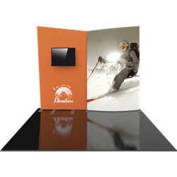 10ft Formulate Designer Series Backwall Tension Fabric Display Kit 09 offer you a quick and professional look for your trade show booth. Formulate Designer Series Backwall Displays serve as attractive and cost-effective trade show backdrops