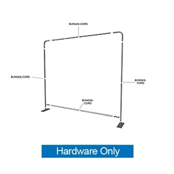 6ft Formulate Essential Tabletop Straight Hardware Only have customary frame features, are portable and come in Straight, Vertical Curved and Horizontal Curved options. Formulate Essential Table Top displays stands apart from the rest tabletops